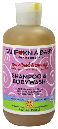DROPPED: California Baby - Shampoo and Bodywash Overtired & Cranky - 8.5 oz.