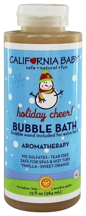 DROPPED: California Baby - Bubble Bath Holiday Cheer! - 13 oz.