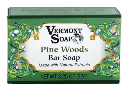 DROPPED: Vermont Soapworks - Bar Soap Pine Woods - 3.25 oz.