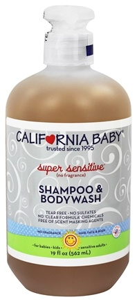California Baby Shampoo And Bodywash Super Sensitive 19 Oz