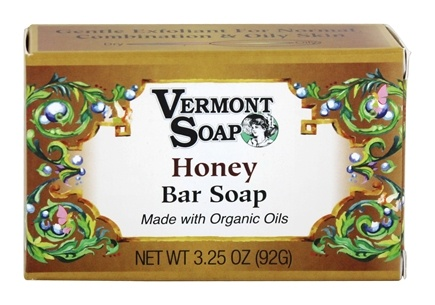 DROPPED: Vermont Soapworks - Bar Soap Honey - 3.25 oz.
