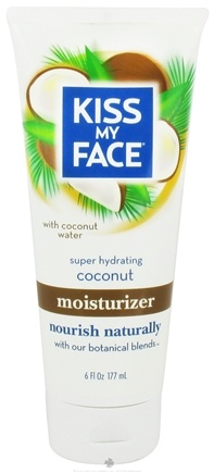 DROPPED: Kiss My Face - Moisturizer Super Hydrating Coconut - 6 oz.