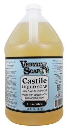 Zoom View - Aloe Castile Liquid Soap