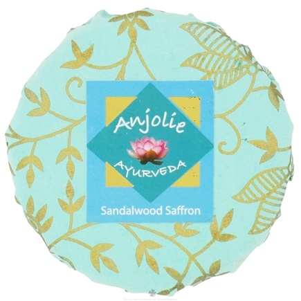 DROPPED: Anjolie Ayurveda - Sandalwood Saffron Soap - 150 Grams CLEARANCED PRICED