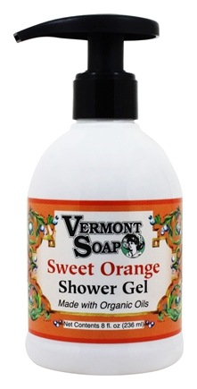 Vermont Soapworks - Shower Gel Sweet Orange - 8 oz.