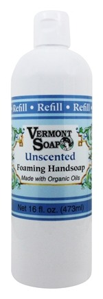 Vermont Soapworks - Foaming Hand Soap Refill Unscented - 16 oz.