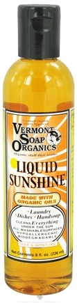DROPPED: Vermont Soapworks - Liquid Sunshine Household Cleaner - 8 oz. CLEARANCE PRICED