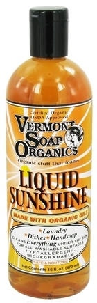 DROPPED: Vermont Soapworks - Liquid Sunshine Household Cleaner - 16 oz. CLEARANCED PRICED