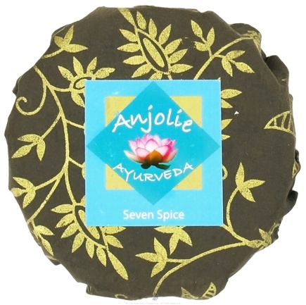 DROPPED: Anjolie Ayurveda - Seven Spice Soap - 150 Grams CLEARANCED PRICED