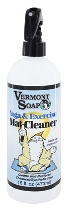Vermont Soapworks - Yoga & Exercise Mat Cleaner - 16 oz.