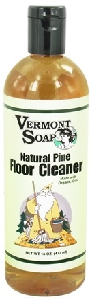 DROPPED: Vermont Soapworks - Floor Cleaner Natural Pine - 16 oz.