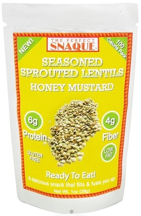 Zoom View - Seasoned Sprouted Lentils