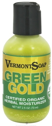 DROPPED: Vermont Soapworks - Green Gold Herbal Moisturizer - 2.5 oz.