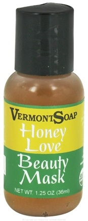 DROPPED: Vermont Soapworks - Honey Love Beauty Mask - 1.25 oz. CLEARANCE PRICED