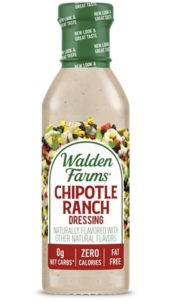 Walden Farms - Calorie Free Salad Dressing Chipotle Ranch - 12 oz.