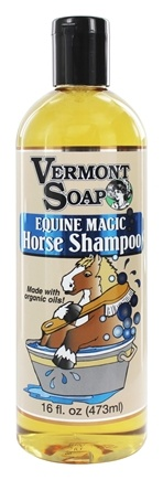 DROPPED: Vermont Soapworks - Equine Magic Horse Shampoo - 16 oz.