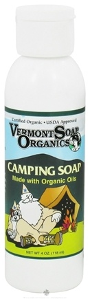 DROPPED: Vermont Soapworks - Camping Soap - 4 oz. CLEARANCE PRICED