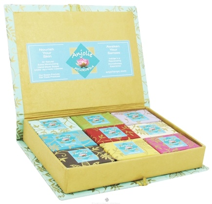 Zoom View - 9 Mini Soaps Assortment Gift Box