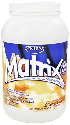 DROPPED: Syntrax - Matrix 2.0 Sustained-Release Protein Blend Orange Cream - 2 lbs. CLEARANCE PRICED
