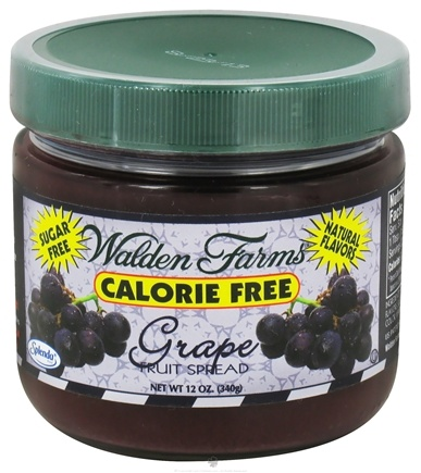 DROPPED: Walden Farms - Calorie Free Fruit Spread Grape - 12 oz.