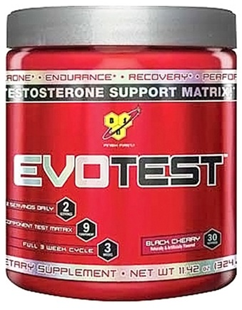 DROPPED: BSN - EvoTest Testosterone Support Matrix Black Cherry - 10.58 oz. CLEARANCE PRICED