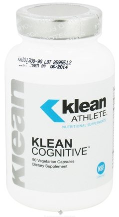 DROPPED: Klean Athlete - Klean Cognitive - 90 Vegetarian Capsules CLEARANCE PRICED
