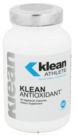 DROPPED: Klean Athlete - Klean Antioxidant - 90 Vegetarian Capsules CLEARANCE PRICED