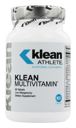 DROPPED: Klean Athlete - Klean Multivitamin - 60 Tablets