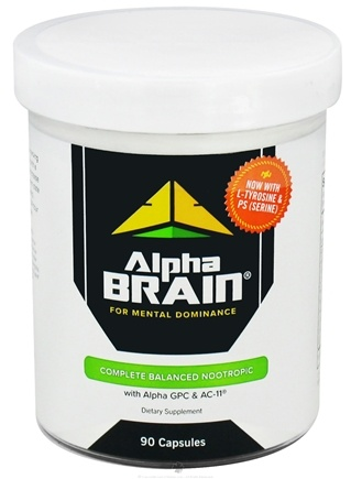 DROPPED: Onnit - Alpha Brain for Mental Dominance - 90 Capsules CLEARANCE PRICED
