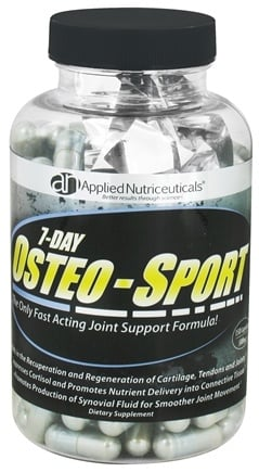 DROPPED: Applied Nutriceuticals - Osteo Sport 7-Day Joint Support Formula 500 mg. - 150 Capsules CLEARANCE PRICED