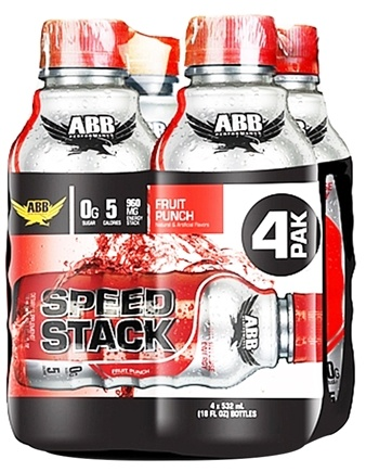 DROPPED: ABB Performance - Speed Stack Fruit Punch 18 oz. - 4 Pack CLEARANCE PRICED