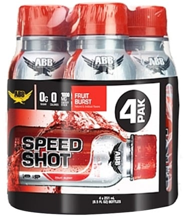 DROPPED: ABB Performance - Speed Shot Fruit Punch 8.5 oz. - 4 Pack CLEARANCE PRICED