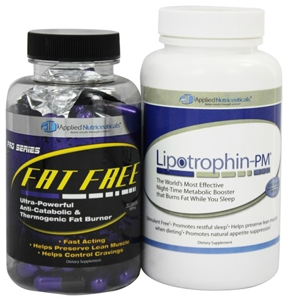 DROPPED: Applied Nutriceuticals - AM-PM Fat Burning Kit with Lipotrophin-PM and Fat Free Pro Series - 210 Capsules CLEARANCE PRICED