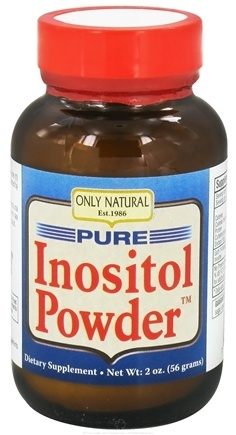 DROPPED: Only Natural - Pure Inositol Powder - 2 oz. CLEARANCE PRICED