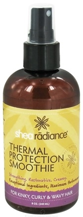 DROPPED: Shea Radiance - Thermal Protection Smoothie For Kinky, Curly & Wavy Hair - 8 oz.