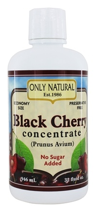 Only Natural - Black Cherry Concentrate - 32 oz.