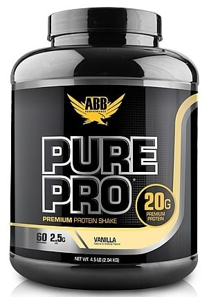 DROPPED: ABB Performance - Pure Pro Protein Powder Drink Mix Vanilla - 4.5 lbs. CLEARANCE PRICED