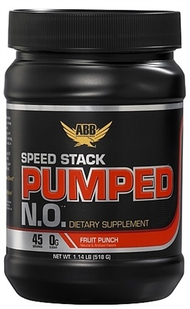 DROPPED: ABB Performance - Speed Stack Pumped NO Powder Fruit Punch - 1.14 lbs. CLEARANCE PRICED