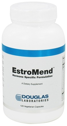 DROPPED: Douglas Laboratories - EstroMend - 120 Vegetarian Capsules CLEARANCE PRICED