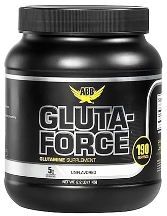 DROPPED: ABB Performance - Gluta-Force Glutamine Unflavored - 1.1 lbs. CLEARANCE PRICED