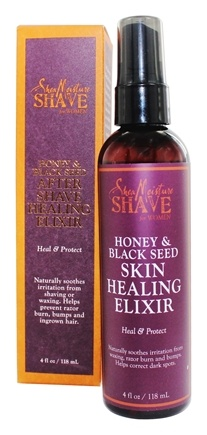 DROPPED: Shea Moisture - Honey & Black Seed After Shave Skin Healing Elixir for Women - 4 oz.