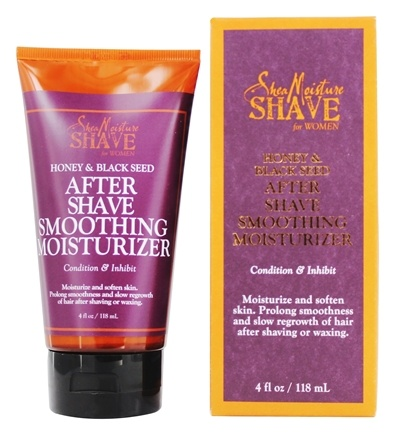 DROPPED: Shea Moisture - Honey & Black Seed After Shave Smoothing Moisturizer For Women - 4 oz.