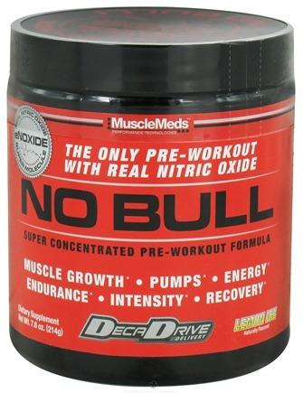 Zoom View - NO Bull Super Concentrated Pre-Workout Formula
