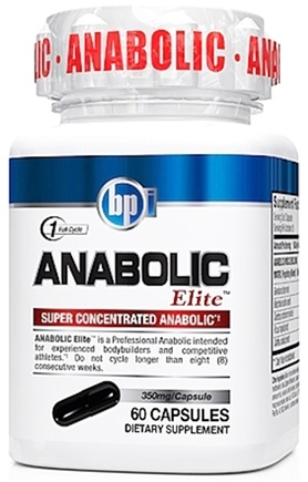 DROPPED: BPI Sports - Anabolic Elite Super Concentrated Anabolic 350 mg. - 60 Capsules