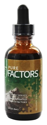 Pure Solutions - Pure Factors Concentrated Growth Factors From Deer Velvet Antler Extract 30 mg. - 2 oz.