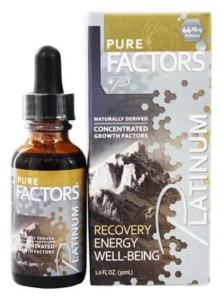 DROPPED: Pure Solutions - Pure Factors Platinum Concentrated Growth Factors Deer Velvet Antler Extract 44.25 mg. - 1 oz.