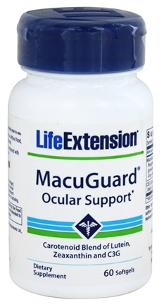 DROPPED: Life Extension - MacuGuard Ocular Support - 60 Softgels