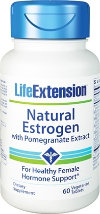 Zoom View - Natural Estrogen with Pomegranate Extract