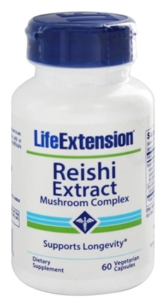 Life Extension - Reishi Extract Mushroom Complex - 60 Vegetarian Capsules