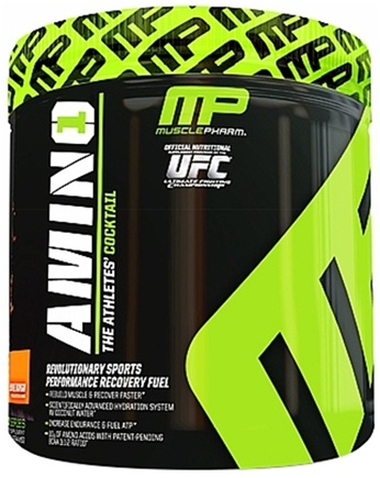 DROPPED: Muscle Pharm - Amino1 Hybrid Series Revolutionary Sports Performance Recovery Fuel Orange Mango - 15 Serving(s) CLEARANCE PRICED